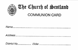 Communion Cards (CA03) - Pack of 100