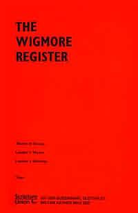 Wigmore Register Su