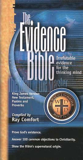 Evidence Bible, Pocket New Testament, Psalms & Proverbs: Paperback