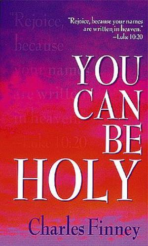 You Can Be Holy