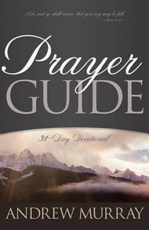 Prayer Guide New Ed