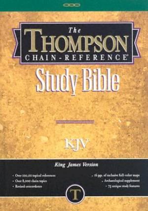 KJV Thompson Chain Reference Study Bible Hardback