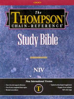 NIV Thompson Chain-Reference Bible