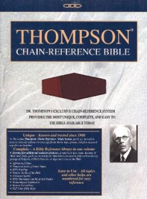 KJV Thompson Chain Ref Handy RL TI Im/Le/Bu/Ma