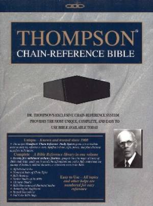 KJV Thompson Chain Ref Handy RL TI Im/Le/Gy/Bk
