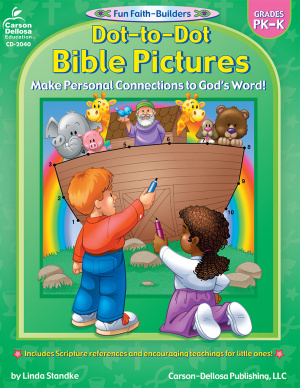Dot To Dot Bible Pictures PreK-K
