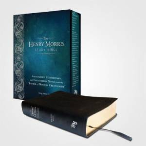 KJV Henry Morris Study Bible Hardback Black wiith Jacket