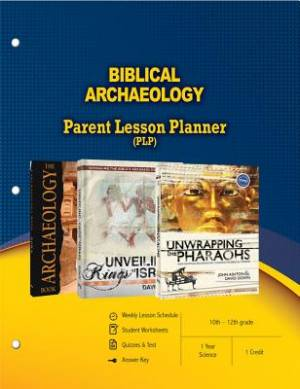 Biblical Archaeology Parent Lesson Plan