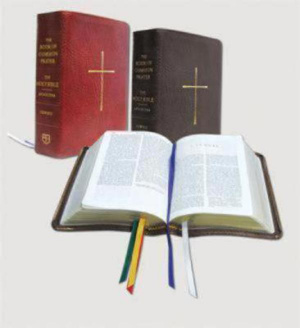 NRSV Bible and Book of Common Prayer: Red, Bonded Leather