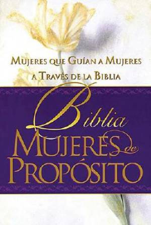 RVR 1960 Biblia Mujeres de Proposito Women Of Destiny Bible Spanish Hardback
