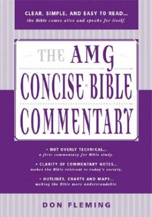 Amg Concise Bible Commentary Hb