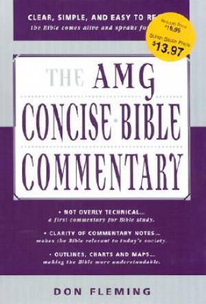 AMG Concise Bible Commentary H/b