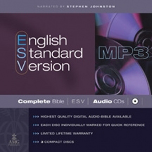 ESV Audio Bible: MP3 CD
