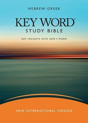 NIV Hebrew-Greek Key Word Study Bible: Hardback