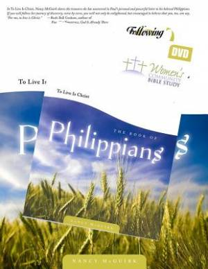 Following God: Philippians Book & Dvd Set