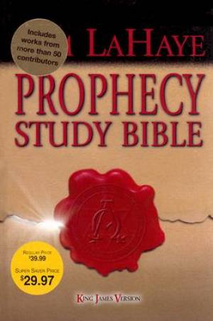 KJV Prophecy Study Bible H/b