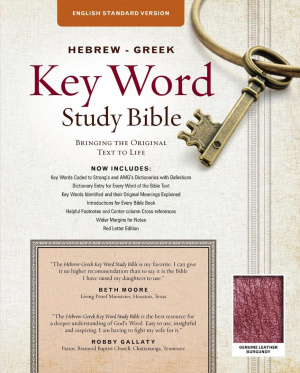 ESV Hebrew-Greek Key Word Study Bible, The