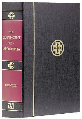 Septuagint with Apocrypha: Black, Hardback, Greek and English