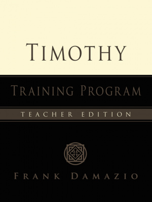 Timothy Training Teacher's Manual