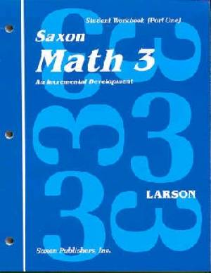 Saxon Math 3 Student Workbook And Fact Cards