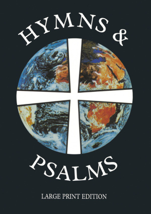 Hymns and Psalms: Large Print
