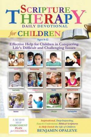 Scripture Therapy Daily Devotional for Children