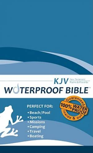 Kjv Waterproof Bible Blue Nt Ps Prov