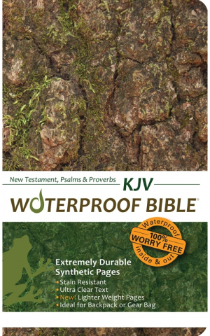 KJV New Testament Psalms and Proverbs Waterproof Bible