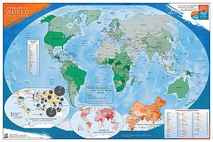 Operation World Map - Folded