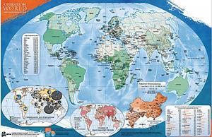 Operation World Wall Map (UV Coated)