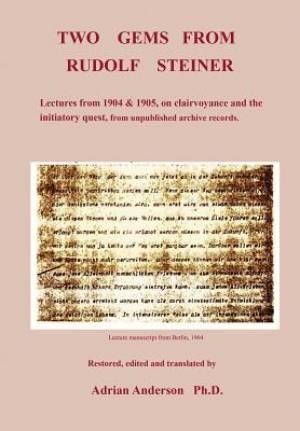 Two Gems from Rudolf Steiner