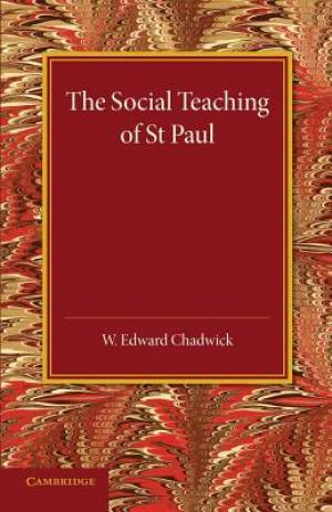 The Social Teaching of St Paul