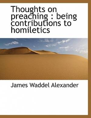 Thoughts on Preaching