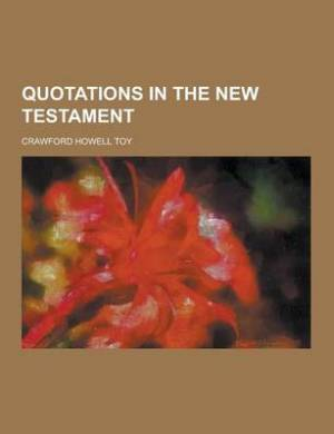Quotations in the New Testament