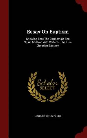 Essay on Baptism