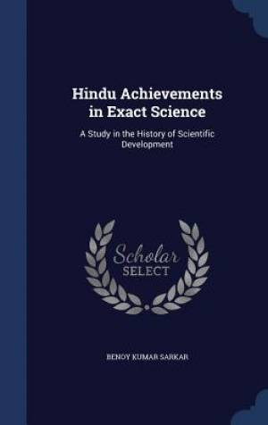 Hindu Achievements in Exact Science