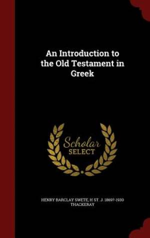 An Introduction to the Old Testament in Greek