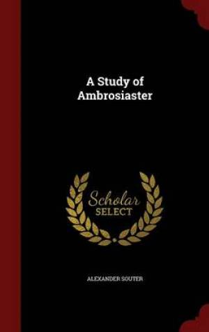 A Study of Ambrosiaster