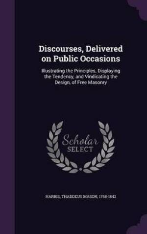 Discourses, Delivered on Public Occasions