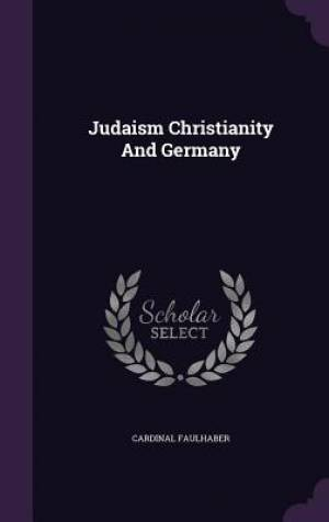 Judaism Christianity and Germany