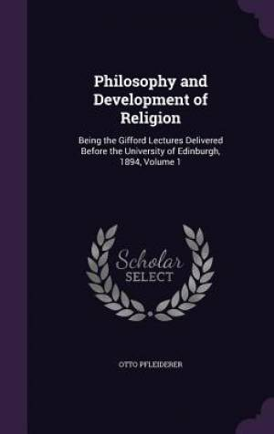 Philosophy and Development of Religion
