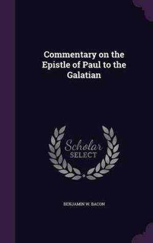 Commentary on the Epistle of Paul to the Galatian