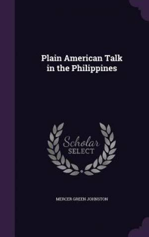 Plain American Talk in the Philippines