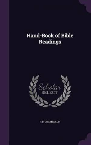 Hand-Book of Bible Readings