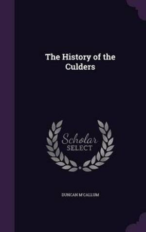 The History of the Culders