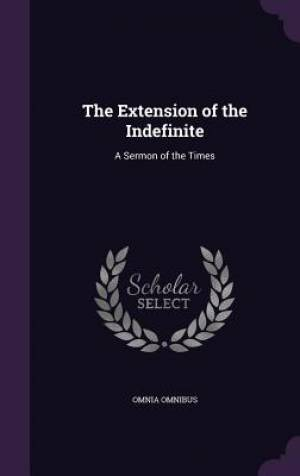 The Extension of the Indefinite