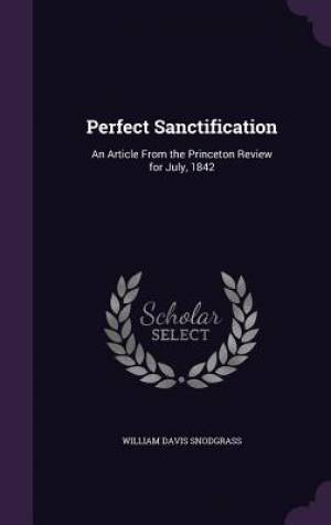 Perfect Sanctification