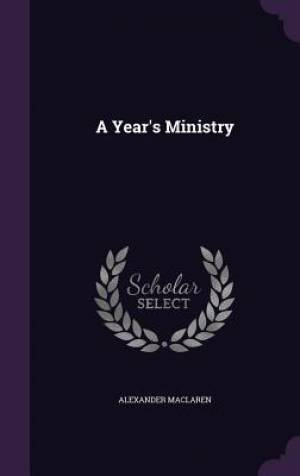 A Year's Ministry