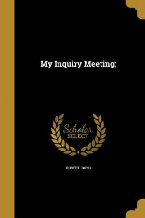 My Inquiry Meeting;