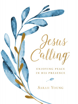 Jesus Calling (Large Text Cloth Botanical Cover)